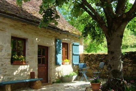 Sfeervol huis bij Dordogne, zw.bad - Cazillac