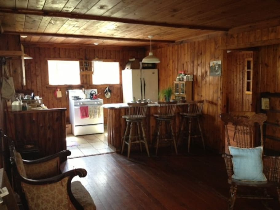 Country style fully equipped kitchen