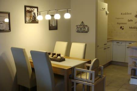 """Wohnung """"Sielperle"""" mit eigenem Bootssteg am Siel - Dornum - Appartement"""