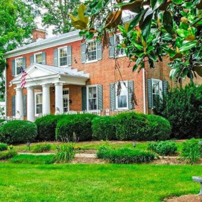 Cave Hill Farm Bed And Breakfast History