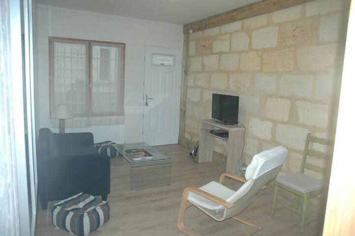GITE DE VILLE + cour et petit garage - bordeaux - Huis