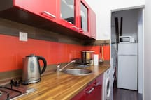 Fully equipped kitchen will make your cooking easy!