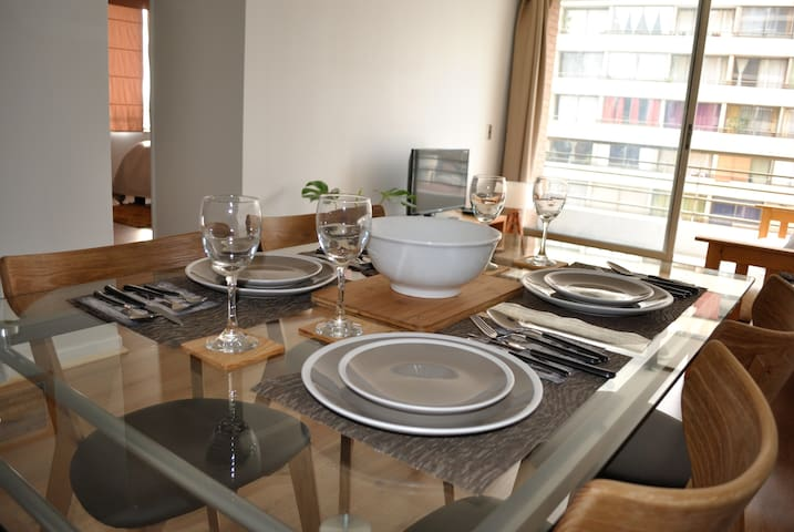 Modern and cozy 2 bedrooms and 2 bathrooms - Recoleta - Lägenhet