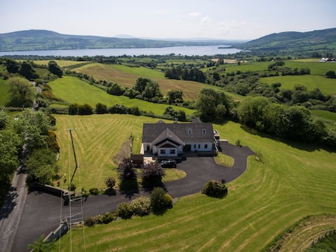Spectacular View of Lough Derg