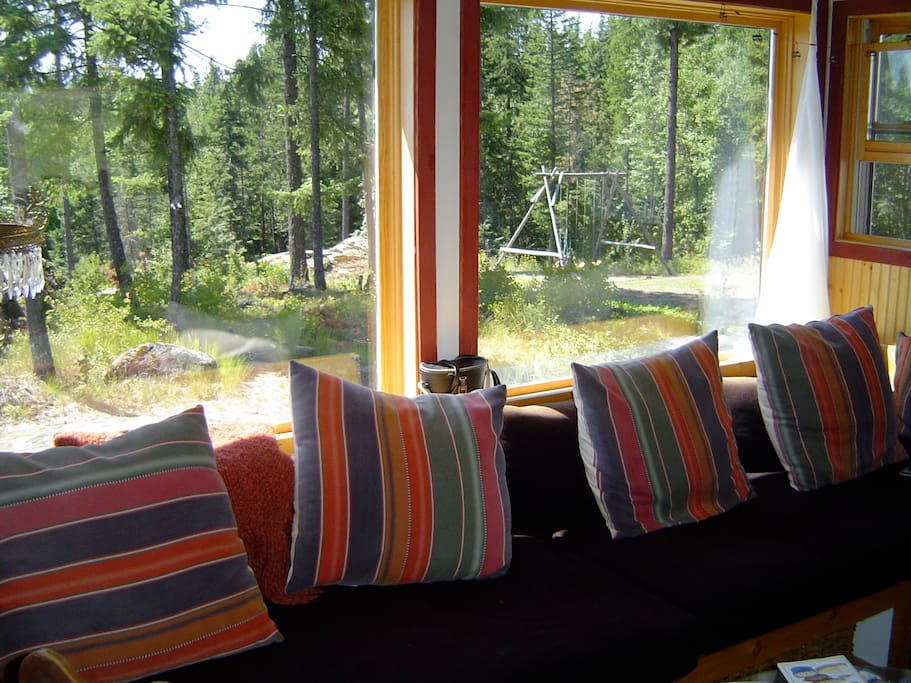 Read a good book... or write a good book on the super comfy 12' window seat