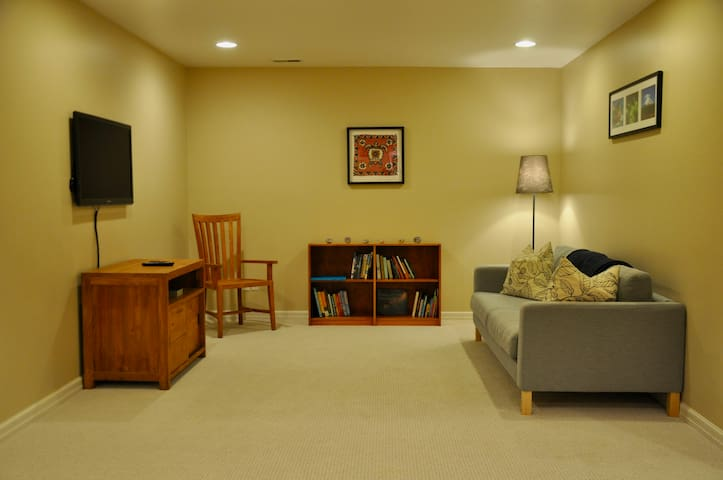 2 Bedroom Basement Suite in Yalecrest