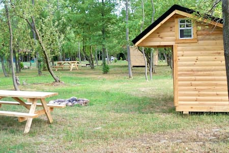 Rustic Adirondack style Lean To. - Darien Center - Otros
