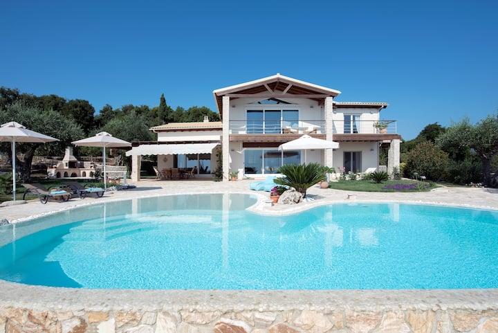 VILLA EDEN, the best view on Corfu Greece