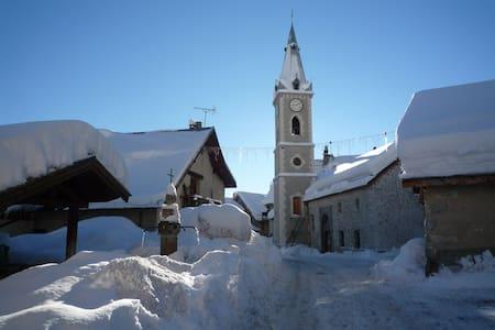 Serre Ch. appt 55m² 6 pers  hameau pied des pistes - La Salle-les-Alpes