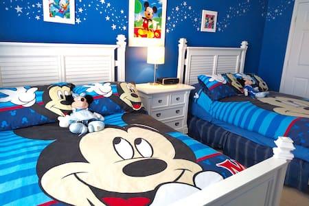 Luxurious Mickey's Dream Home!