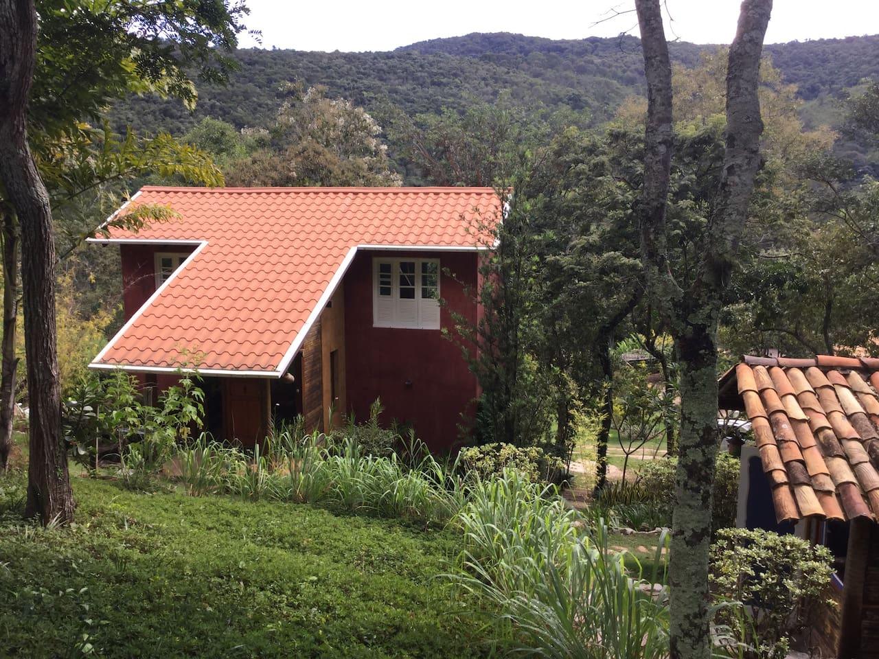 Casa com vista para a Serra