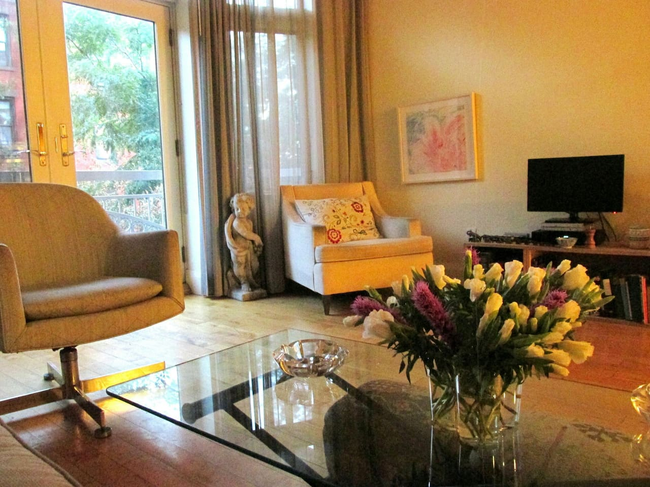 Welcome to Our Large, Sunny 2 Bedroom, 2 Bathroom Park Slope Condominium