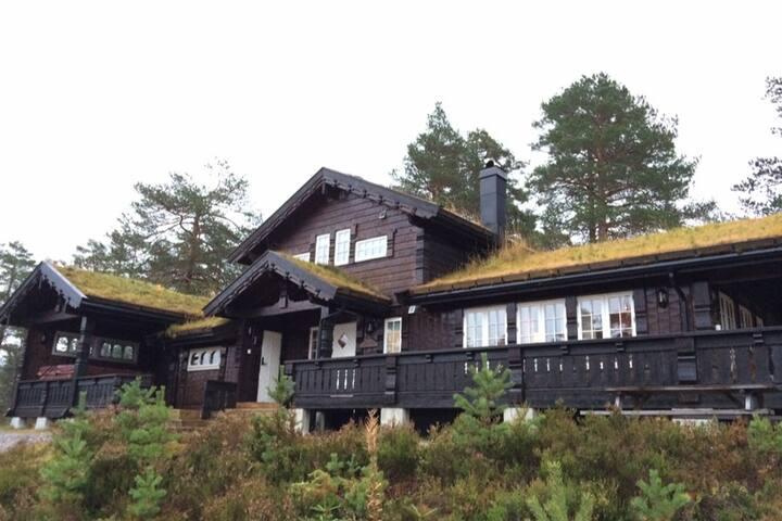 Komfortabel høystandard hytte,Storebo på Gautefall
