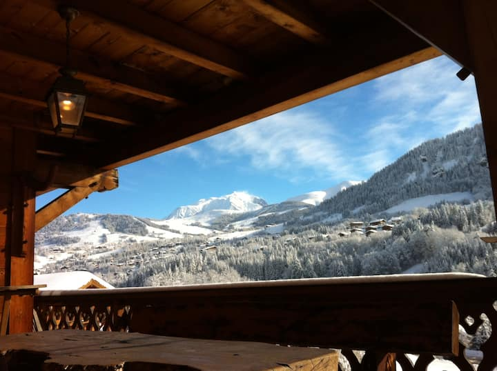 CHALET 4 Étoiles Vue Mt Blanc 2-10