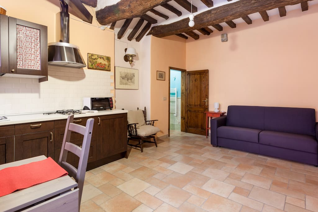 Storico Open Space a Perugia - Flats for Rent in Perugia, Umbria, Italy