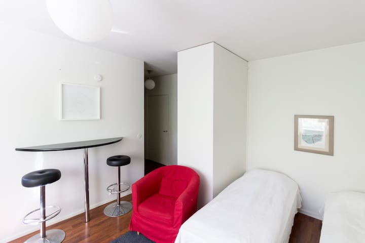 Forenom studio apartment in tranquil neighborhood in Tampere