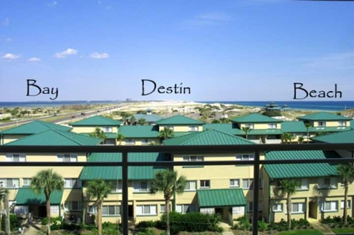 Destin West V506 -Beach Svc/Lazy River/Great Views