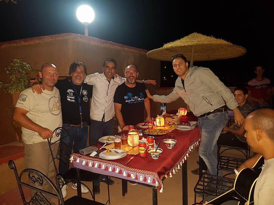une soiree speciale avec notre client espangole