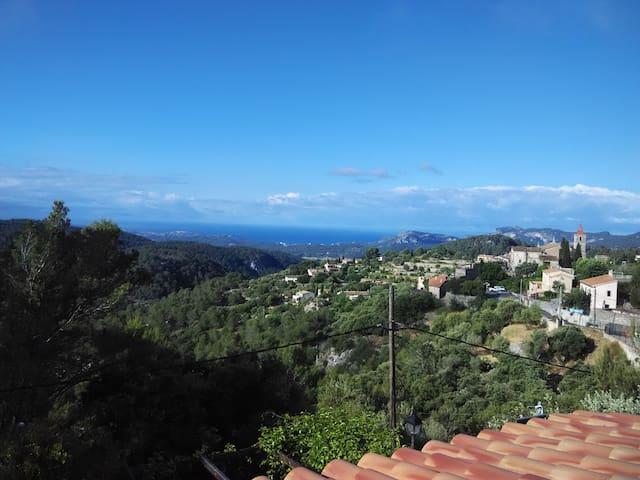 On the mountains with sea views - Galilea - Talo