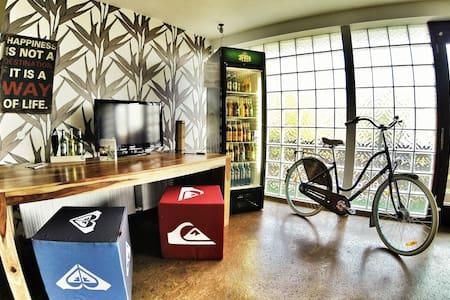 205) Zimmer für 4 Personen, 3 Min zu Fuß ans Meer! - Wangerland - Herberge