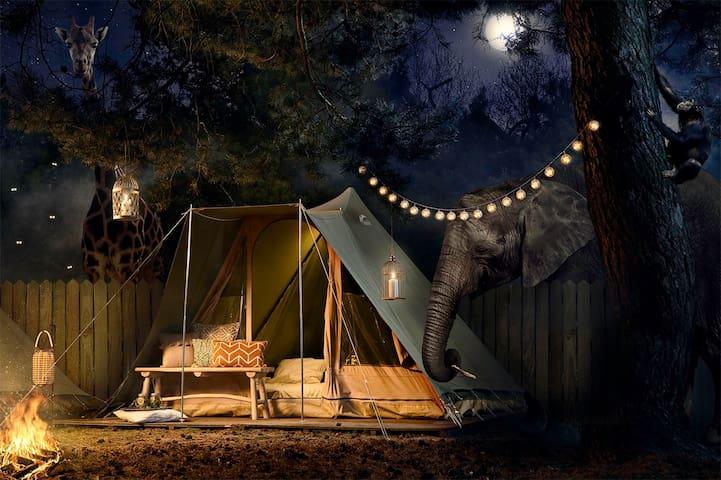 Best Kept Secret Safari Sleepover 7 - Hilvarenbeek - Sátor