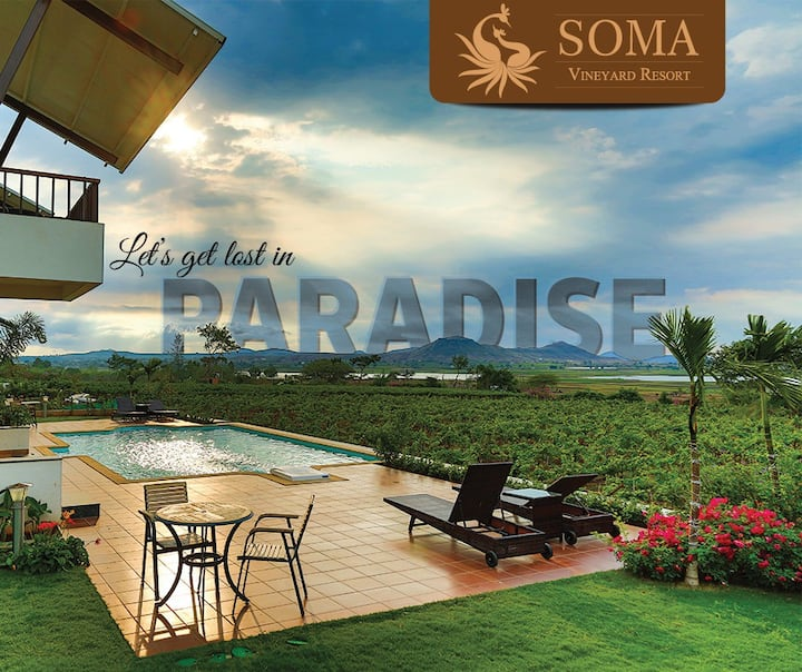 SOMA Vineyard Resort, Nashik
