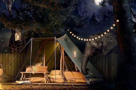 Best Kept Secret Safari Sleepover 8 - Hilvarenbeek - Zelt
