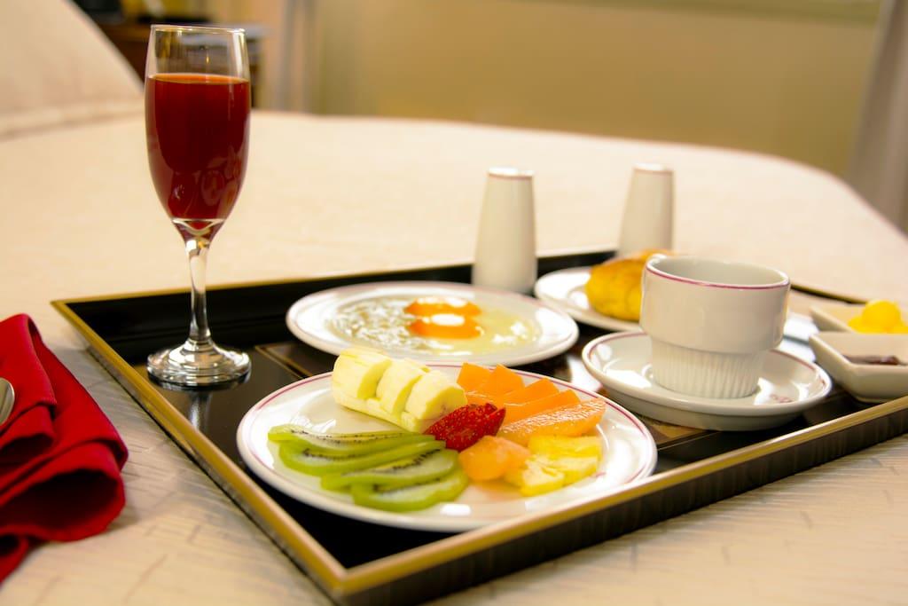 Desayuno incluido.