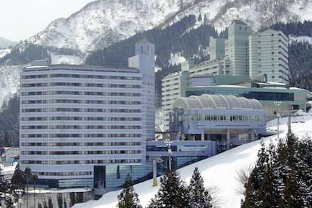 Twin tower Ishiuci.snow slope is front.1LDK - 日本, 南魚沼市石打ツインタワー石打