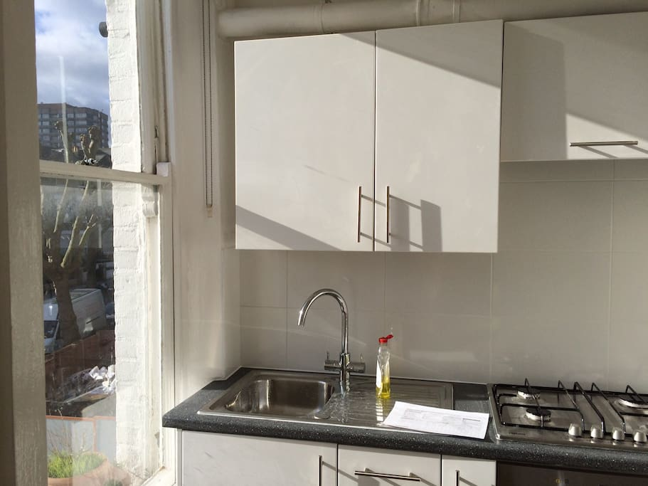 The Kitchen and its view
