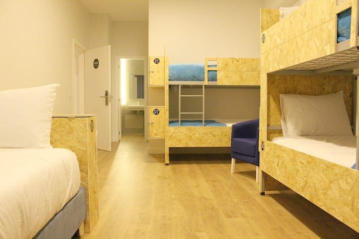 Dormitório Misto - Hi!GO Hostel & Suites