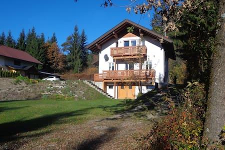 Huis met uitzicht op bergen en meer - Presseggersee