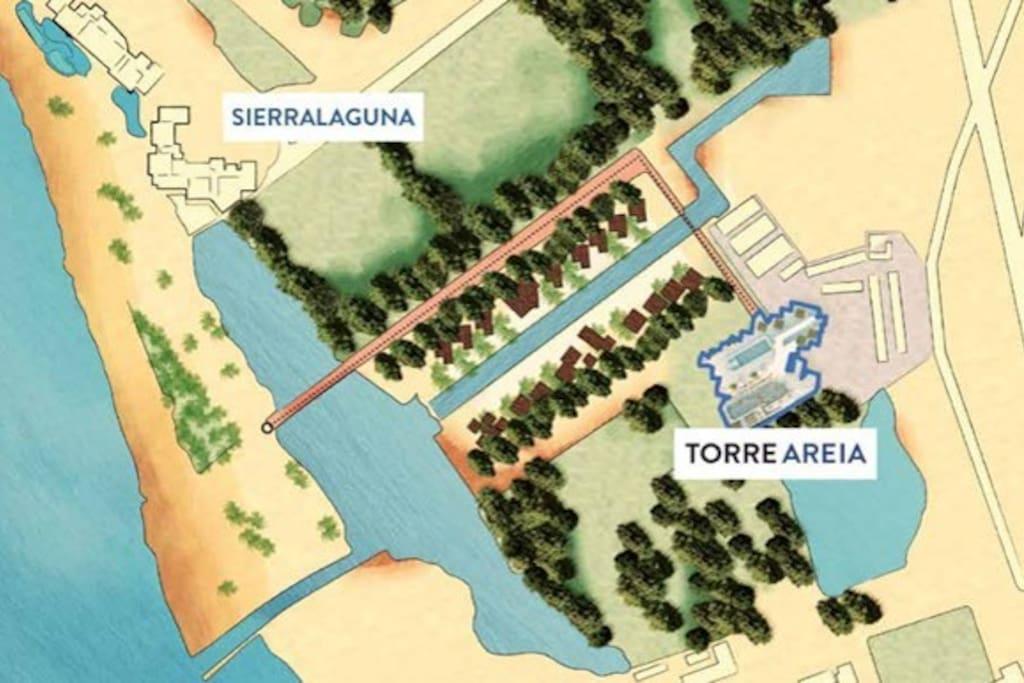 Ubicación en el mapa Location