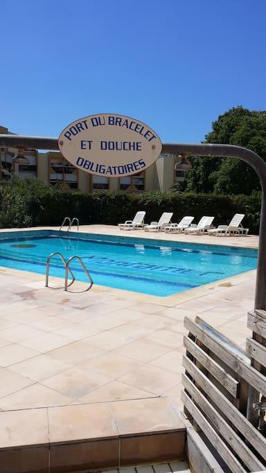 T2 neuf piscine proche plage appartements louer le - Location grau du roi avec piscine ...