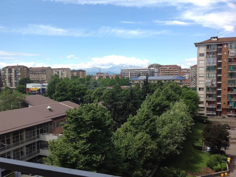 Uno sguardo sulle Alpi