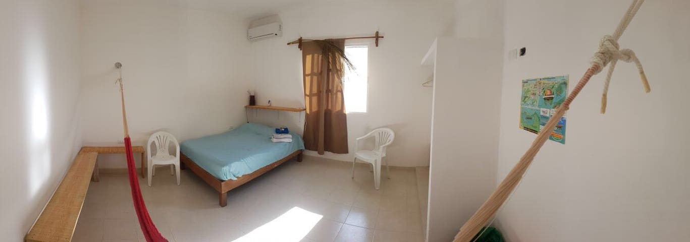 Private double bedroom - Holbox