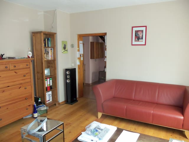 Flat at foot of the Augustusburg - Augustusburg - Apartamento