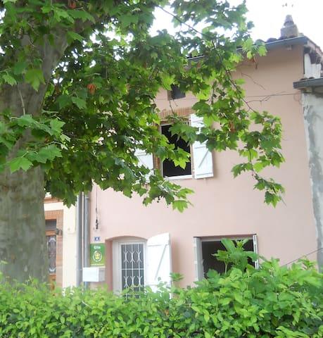 Maison de village au calme ,nature. - Aignes - Hus
