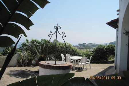 Ischia: home panoramic sea view - Lacco Ameno