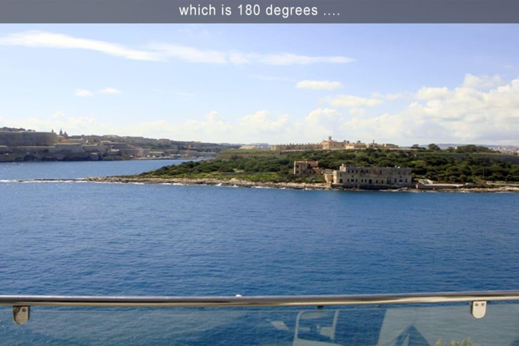 View from your balcony 2bed malta appartamenti in - Asciugatrice in balcone ...