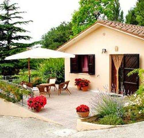 GLI ULIVI Casa vacanza nel verde - San Costanzo - Huis