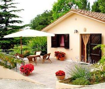 GLI ULIVI Casa vacanza nel verde - San Costanzo - Haus