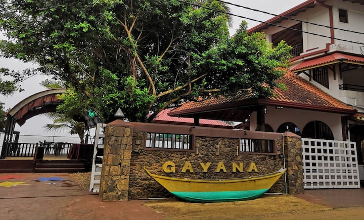 Gayana hotel with private beach