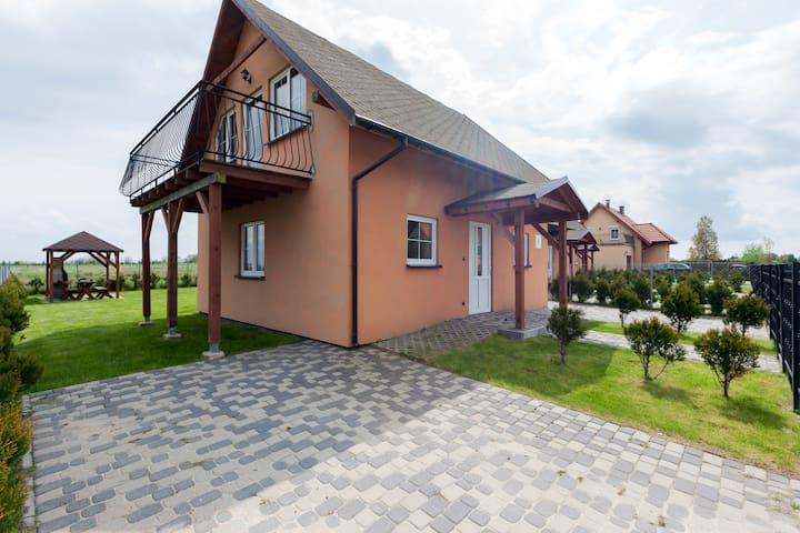 Holiday House Muschel III | balcony - Międzywodzie - Talo