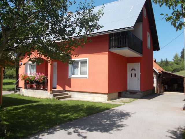 Apartment Matovina (Downstairs) - Saborsko - Apartament