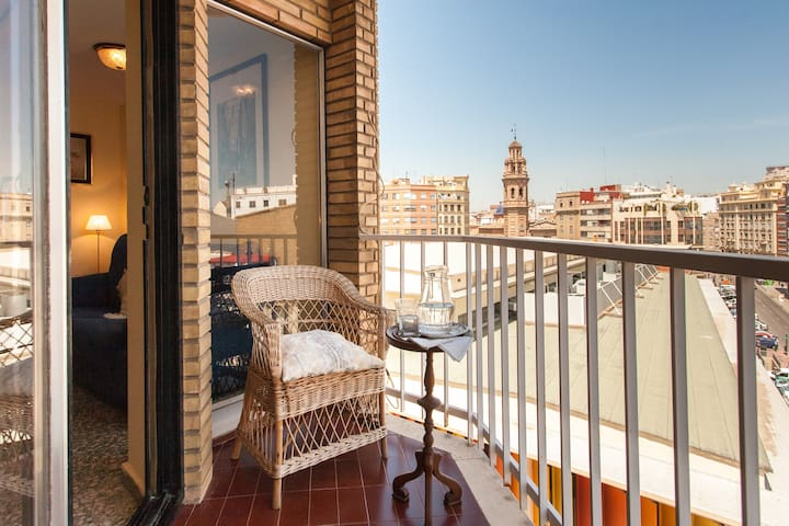 Sunny apartment in Ruzafa's Market - Valencia - Apartment