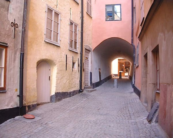 Cosy apartment in the old town! - Stockholm - Flat