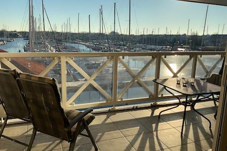Harbourmaisonnette at sea/Grevelingen for families