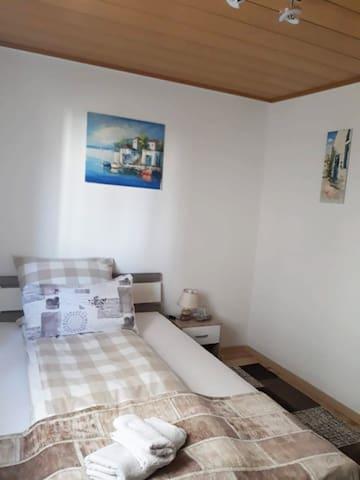 Cozy bedroom  close to Porsche and Bosch