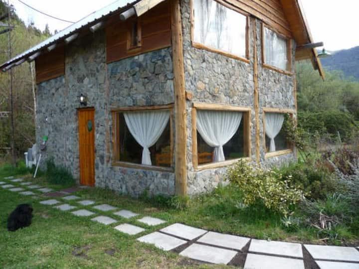 Cabaña Rustica, dos pisos con inmejorables vistas